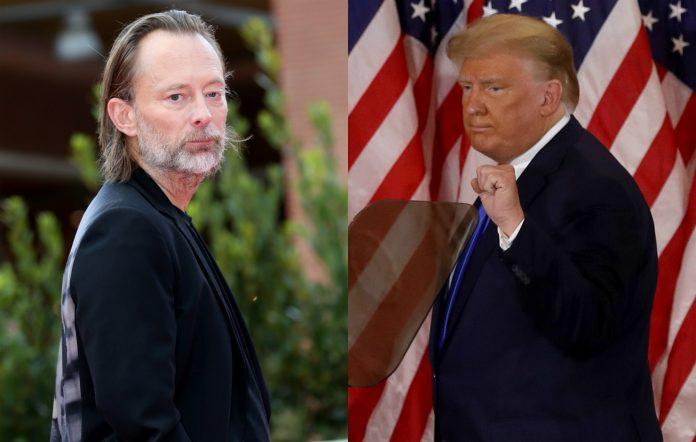 Thom Yorke Trump