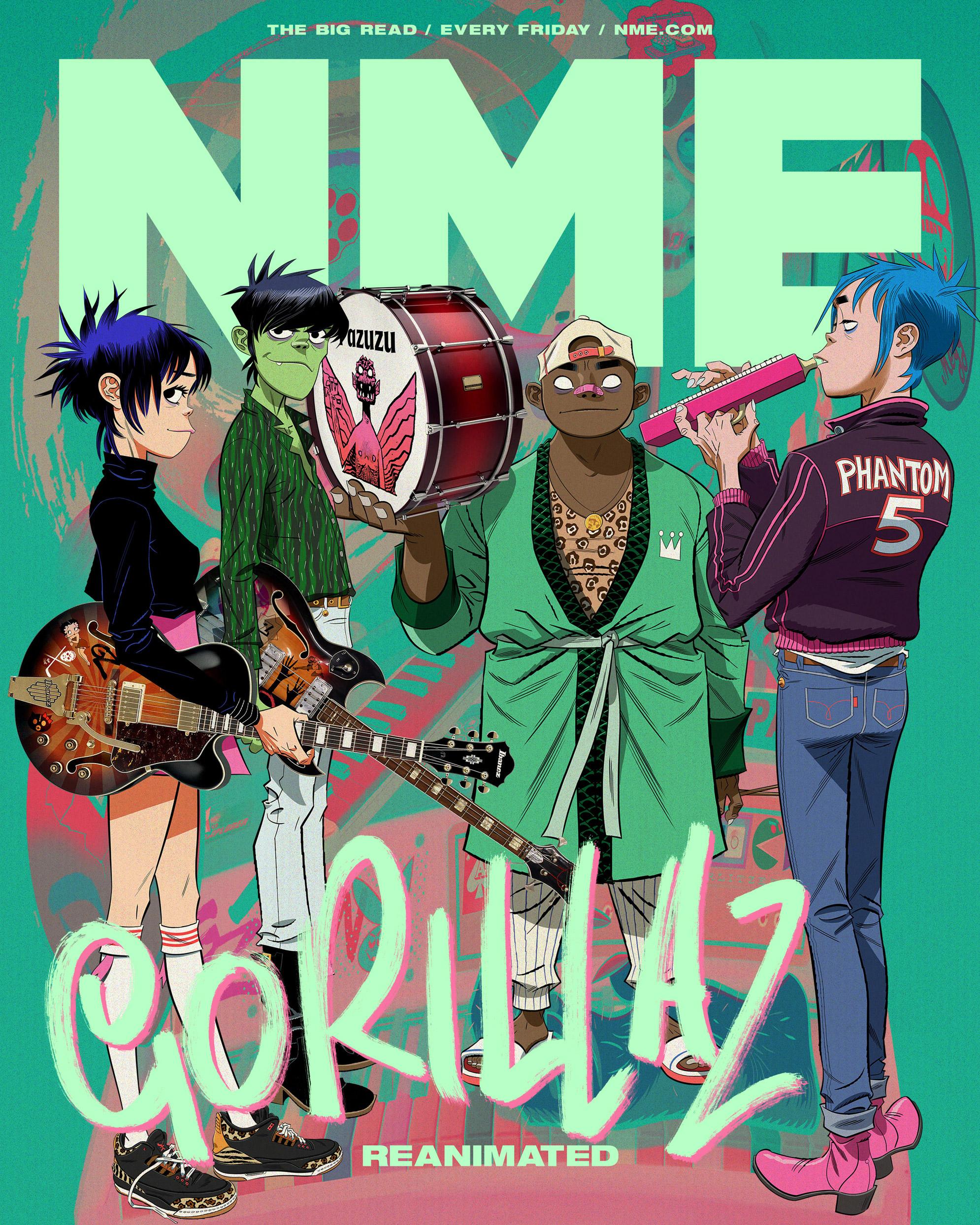 Gorillaz NME Big Read