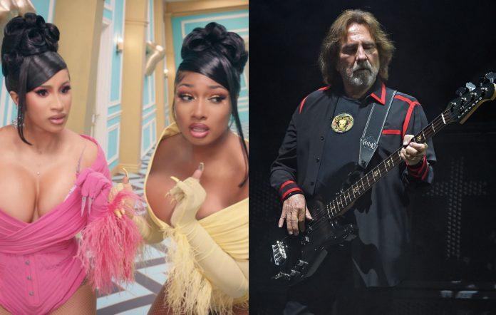 Cardi B and Megan Thee Stallion / Geezer Butler