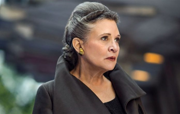 Carrie Fisher Leia Star Wars