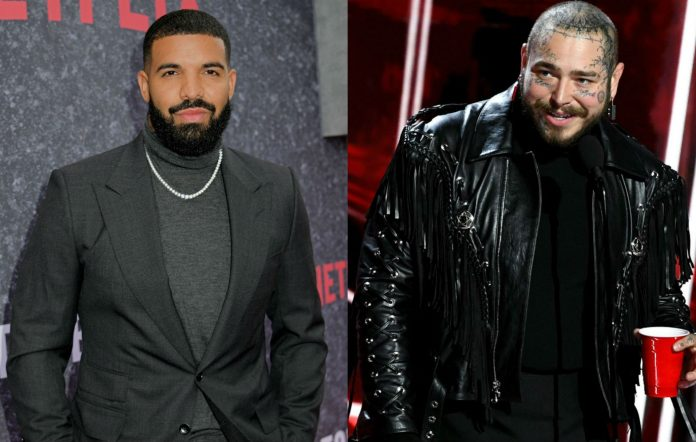 Drake and Post Malone