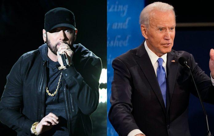 Eminem, Joe Biden