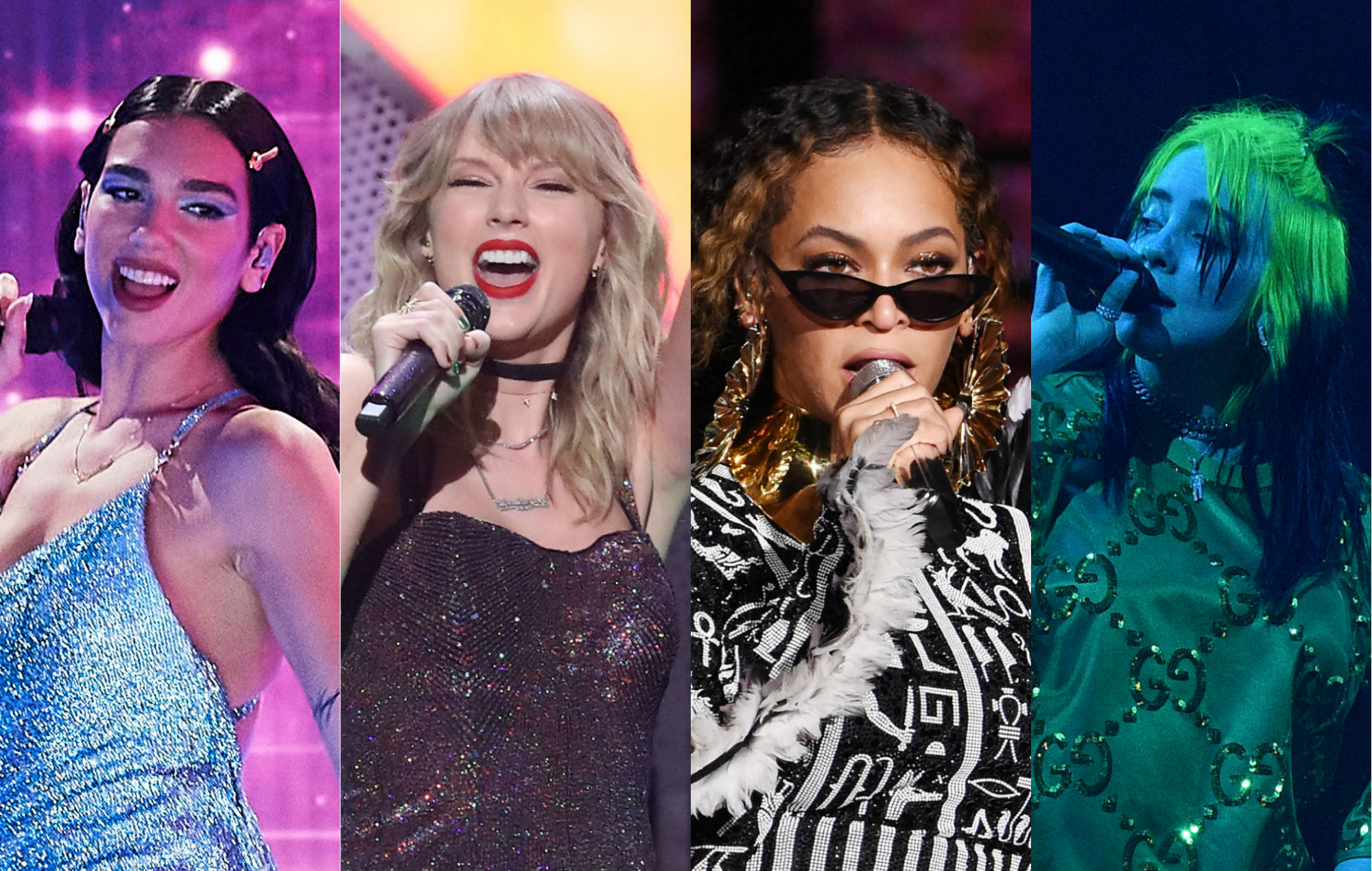 06yuii8e c10m https www nme com news music grammys nominations 2021 dua lipa taylor swift beyonce and billie eilish lead the way 2824245