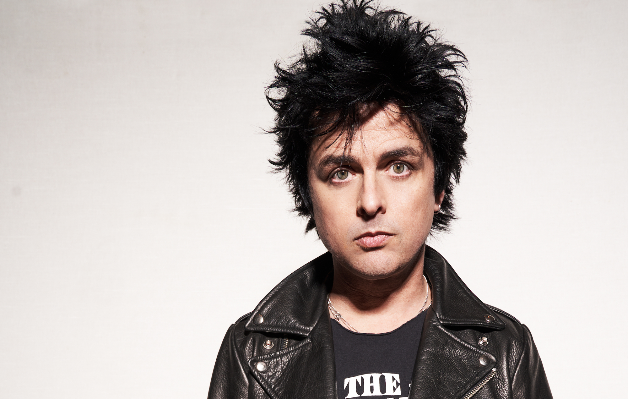 Green Day's Billie Joe Armstrong, shot by Matt Salacuse for NME