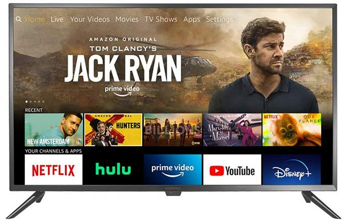 Insignia's 24-inch NS-24DF310NA21 Fire TV edition