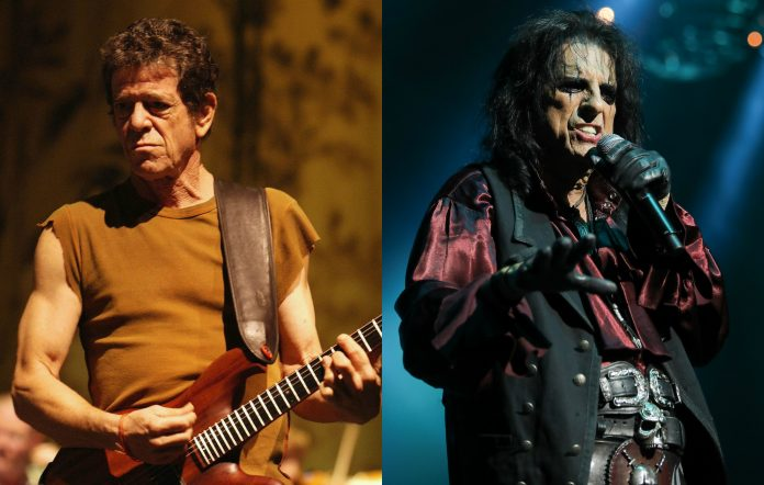 Lou Reed, Alice Cooper