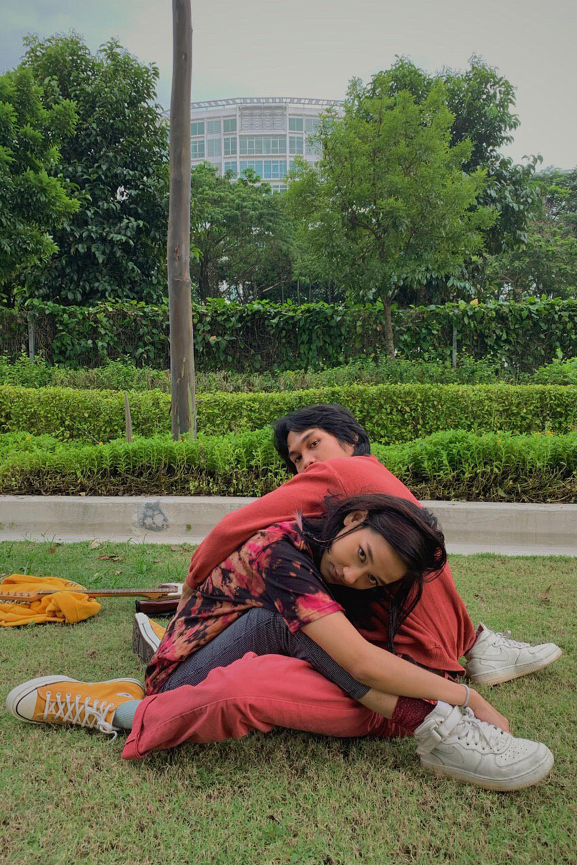 Lunadira Reddi Rocket Tangerine EP Hoodie Malaysia