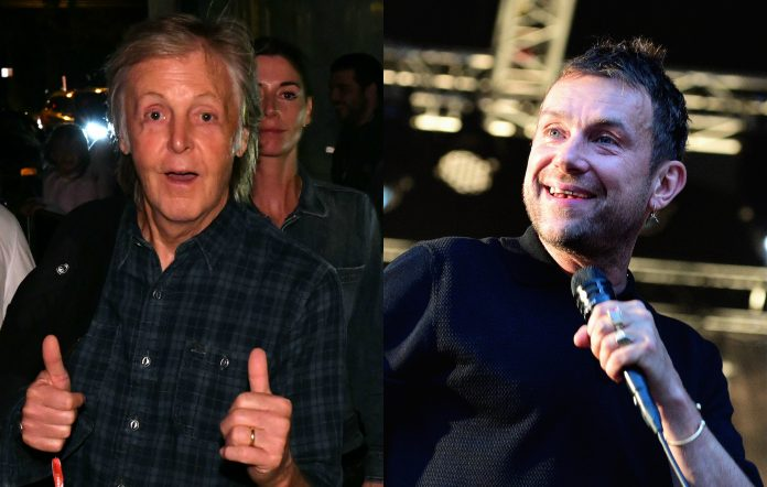 Paul McCartney, Damon Albarn