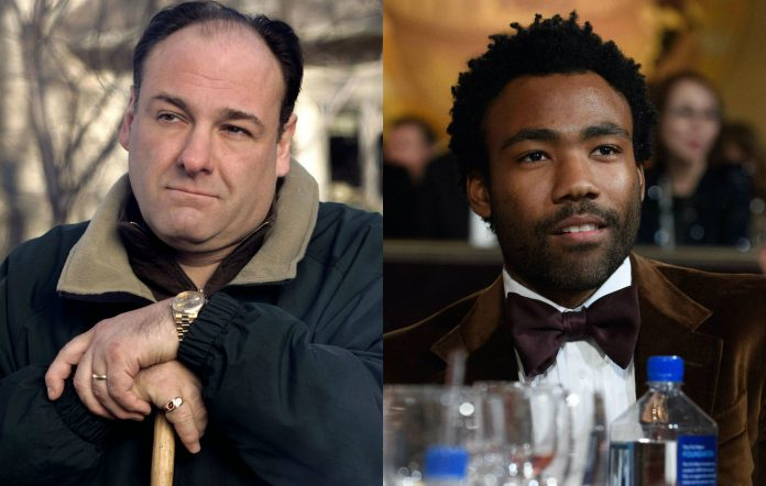James Gandolfini, The Sopranos, Donald Glover, Atlanta