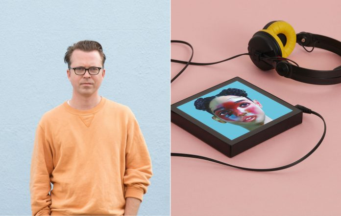 Tom Vek returns with his surprise new album 'New Symbols' and launches new music listening device, Sleevenote. Credit: Kat Green/Joel Knight