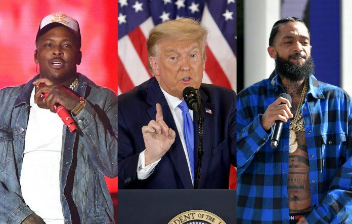 YG, Donald Trump, Nipsey Hussle