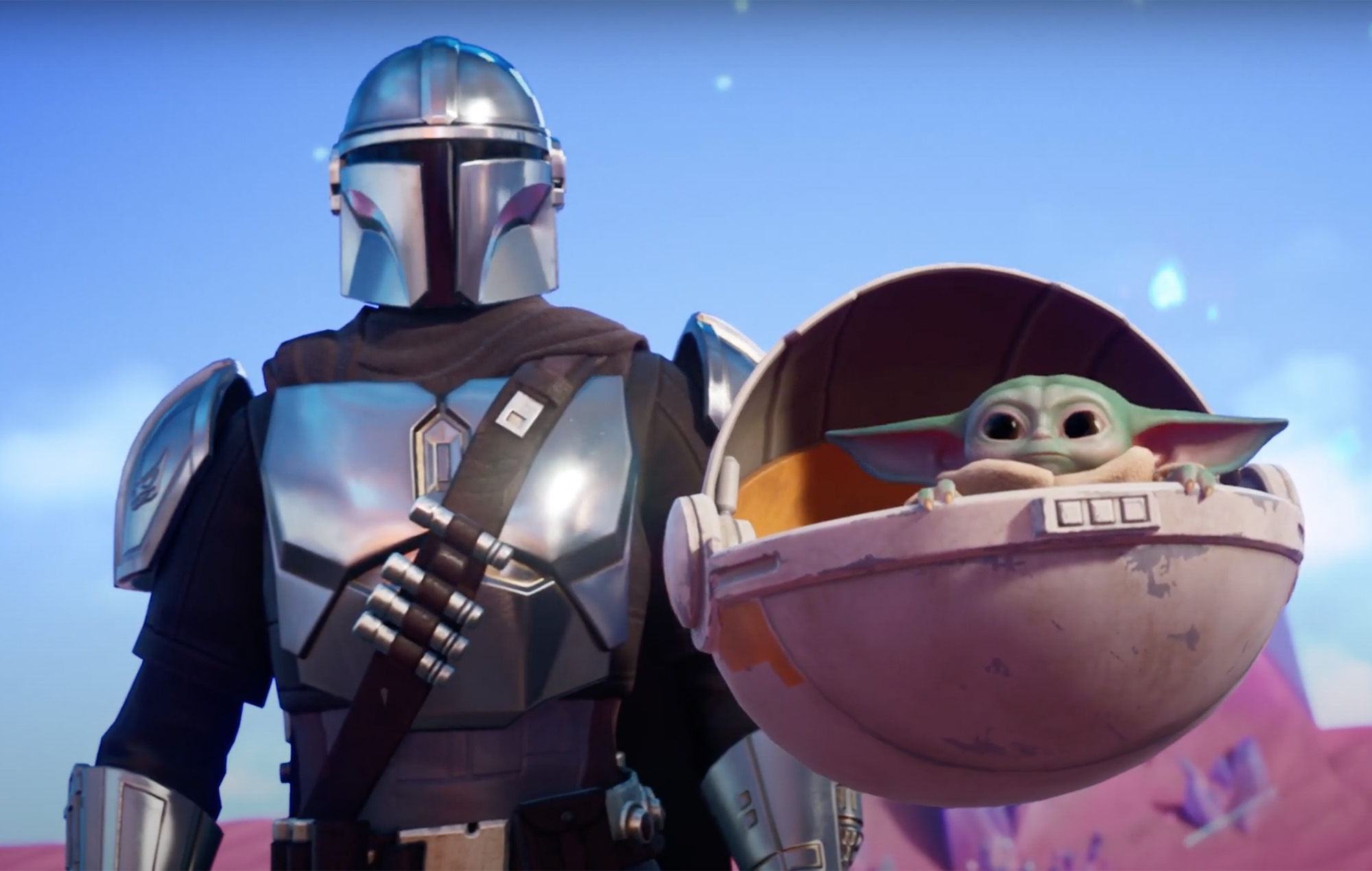 Fortnite' Season 5 features The Mandalorian and Baby Yoda