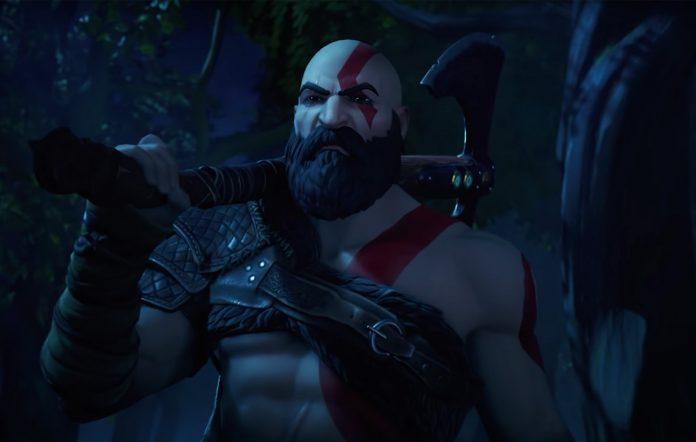 Fortnite Kratos skin God Of War