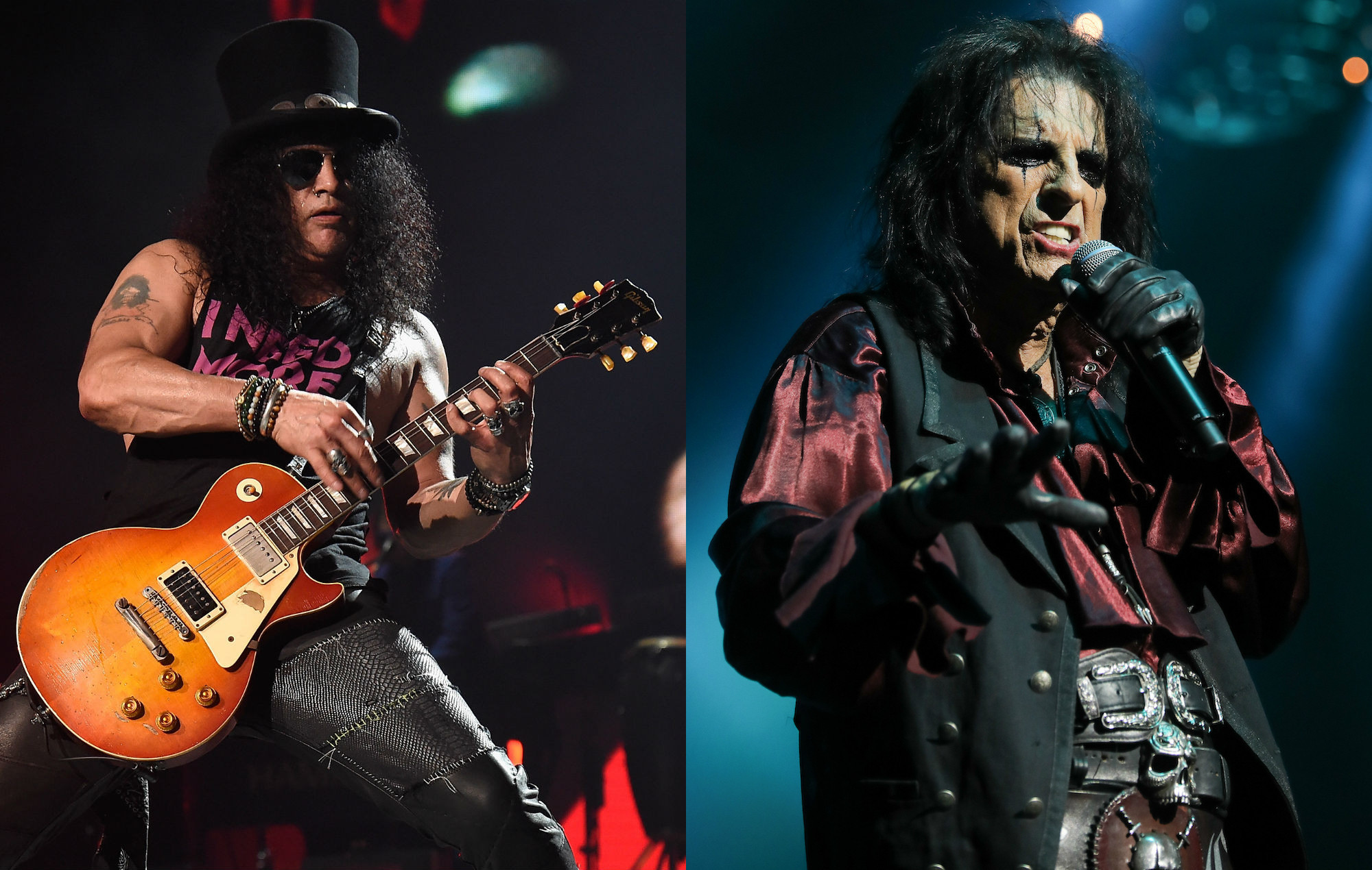 Slash and Alice Cooper are camp counsellors in new documentary 'Rock Camp'