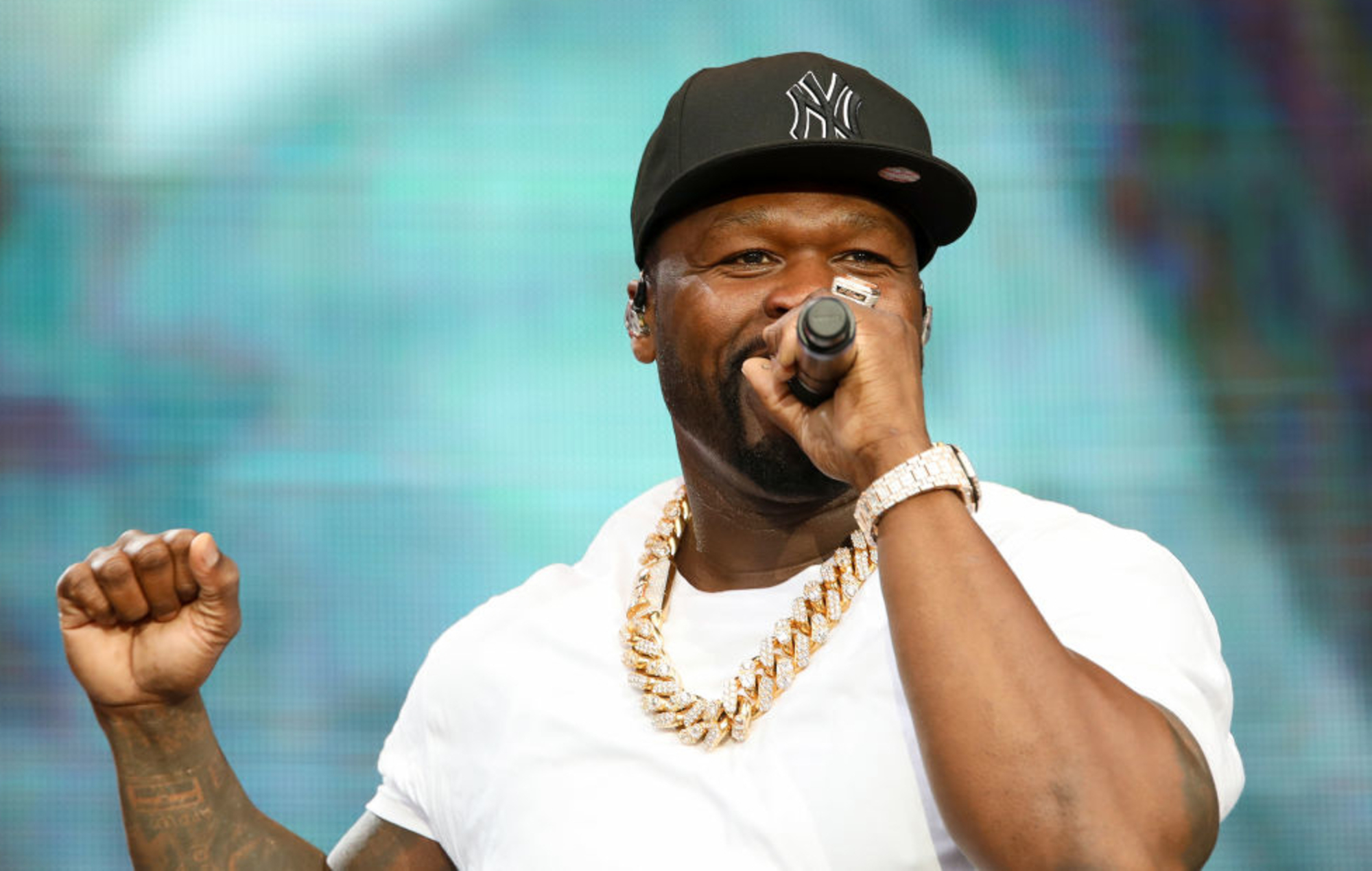 Listen to 50 Cent's new track 'Part Of The Game' featuring NLE Choppa and Rileyy Lanez