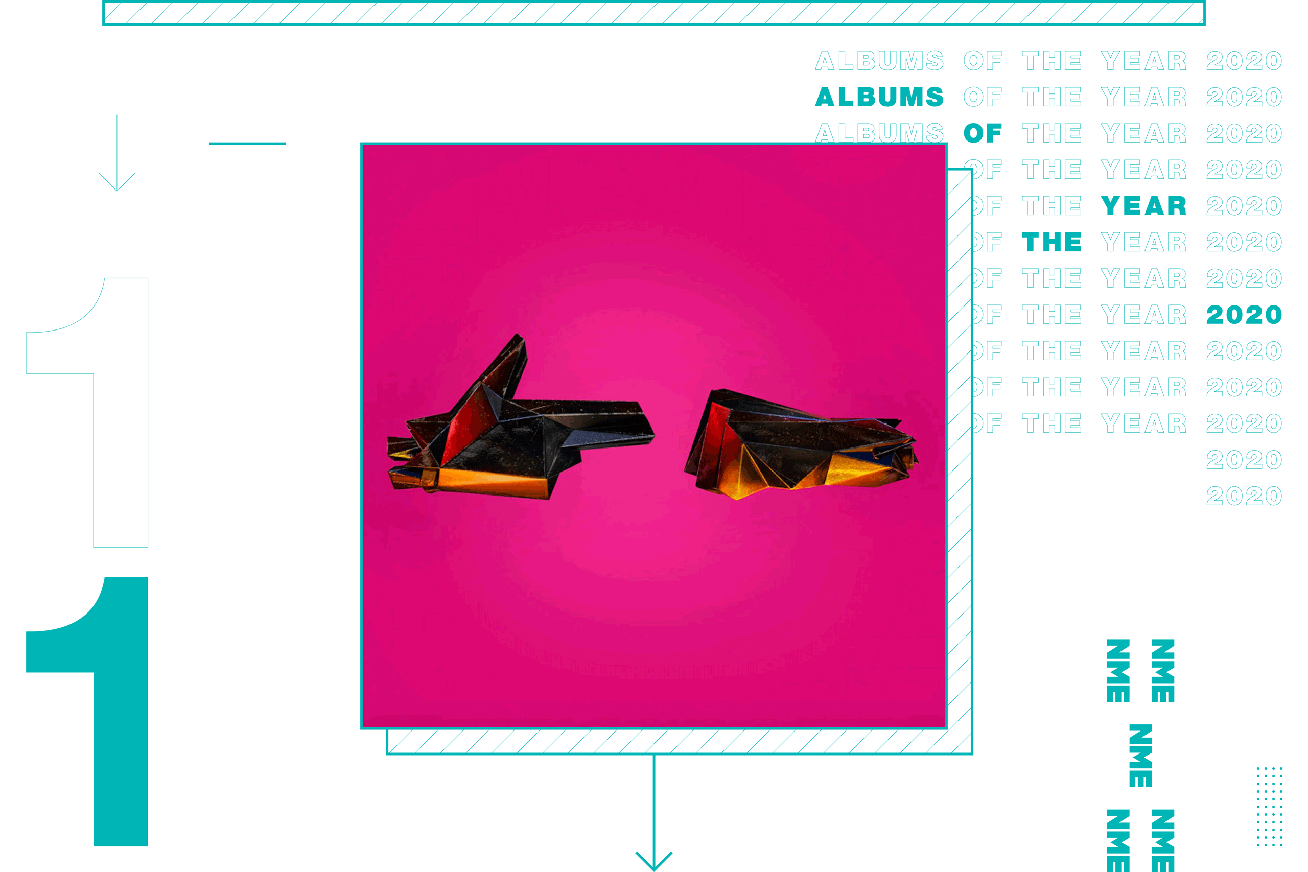 NME Album Of The Year 2020 Run the Jewels, 'RTJ4'