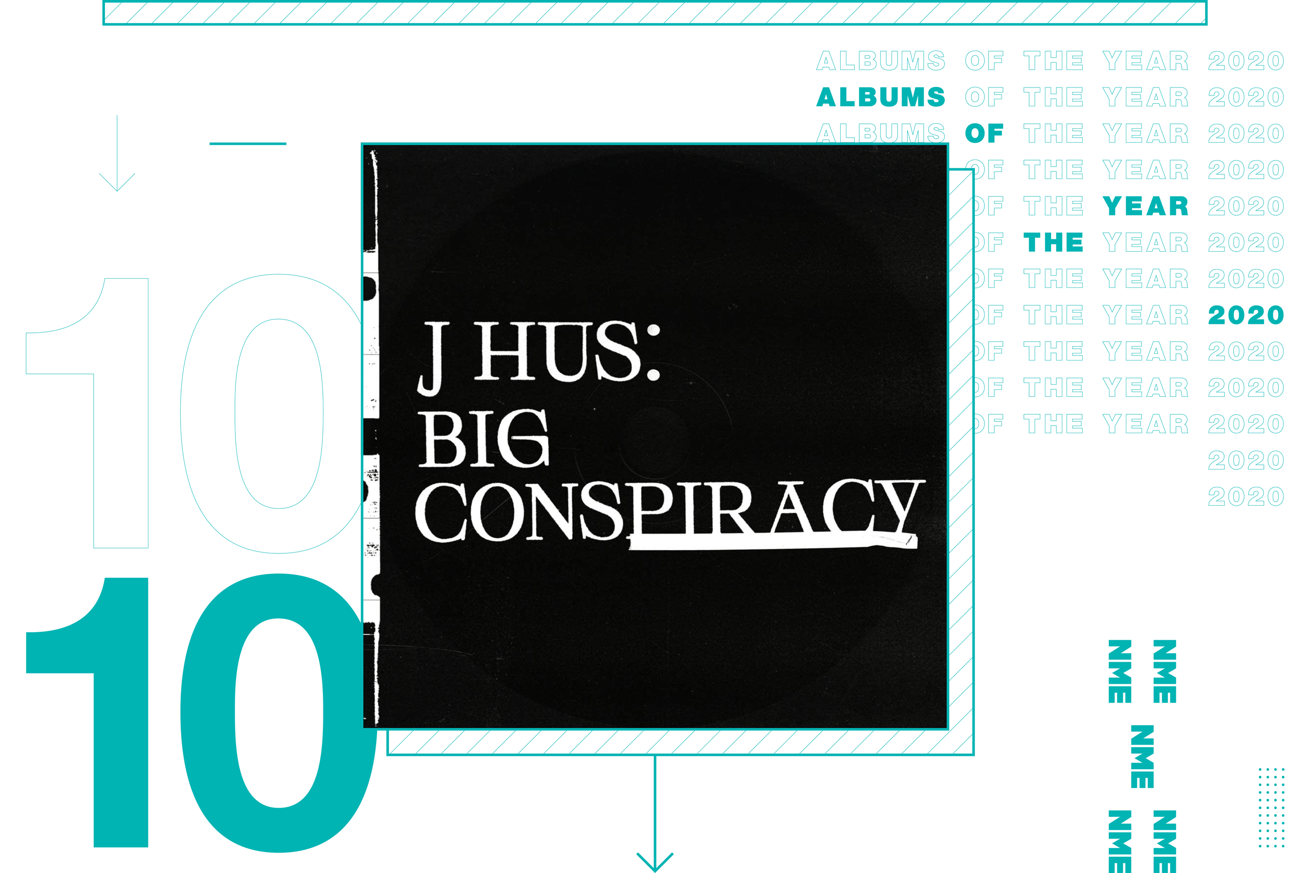 NME Album Of The Year 2020 J Hus, 'Big Conspiracy'