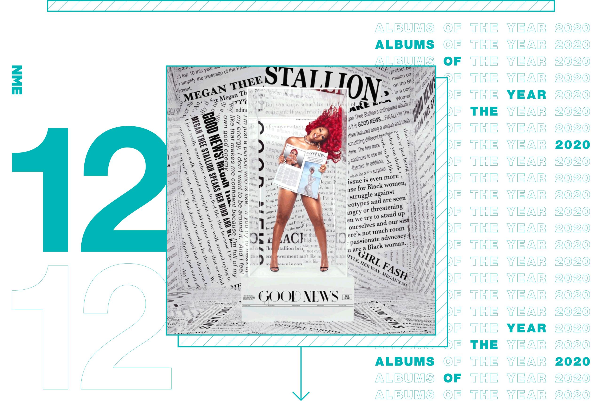 NME Album Of The Year 2020 Megan Thee Stallion, 'Good News'