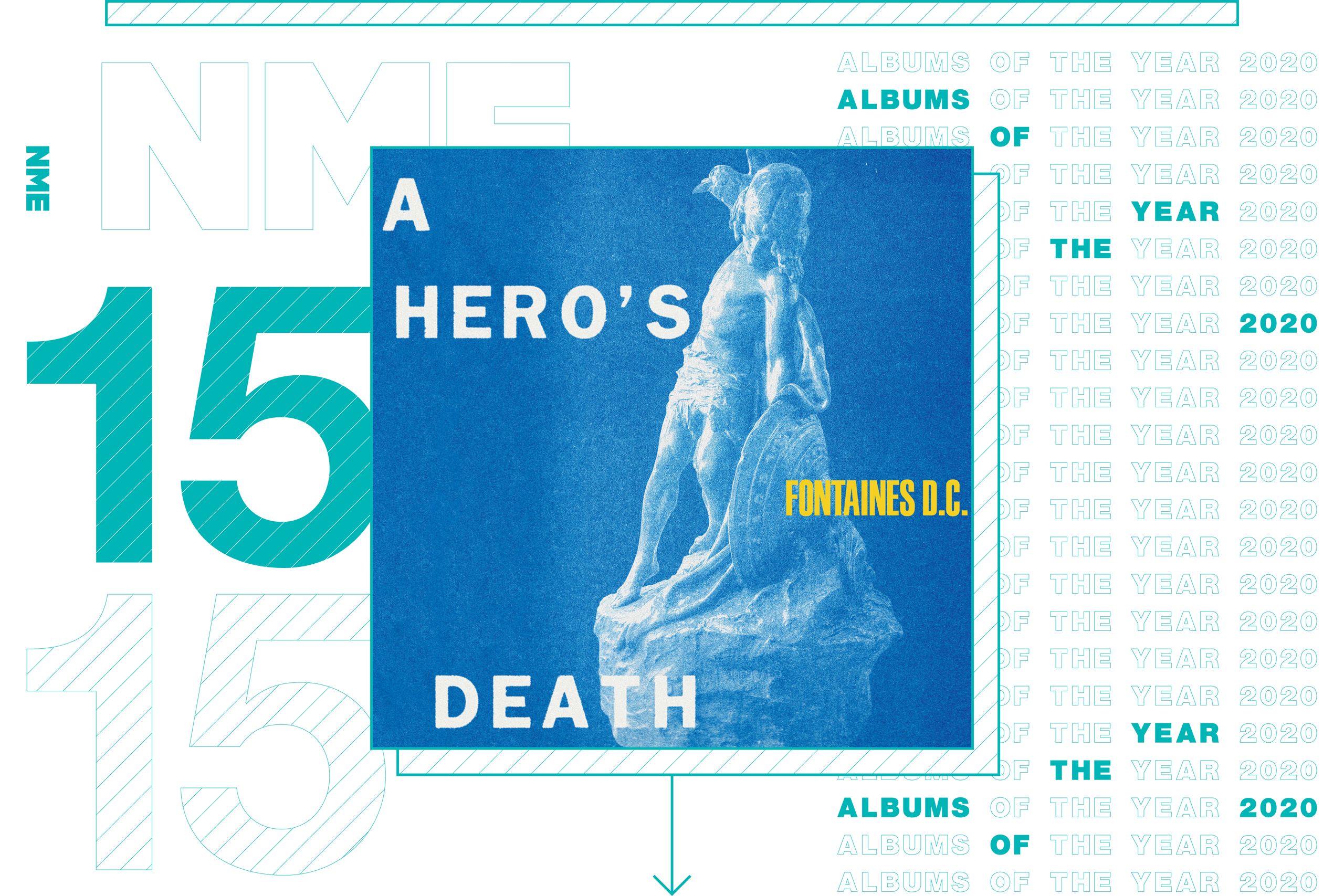 NME Album Of The Year 2020 Fontaines DC, 'A Hero's Death'
