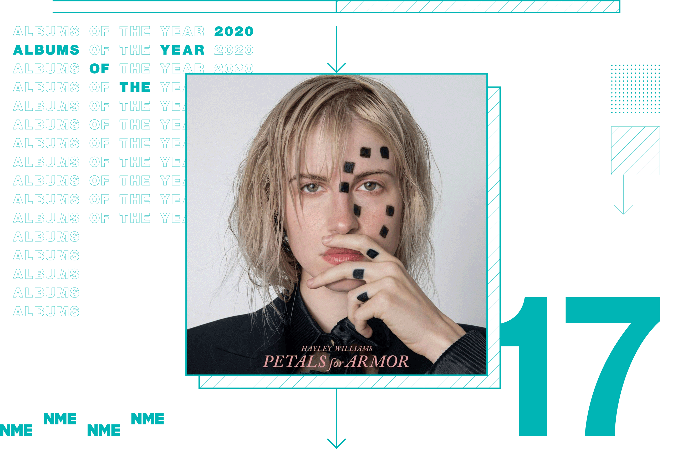 NME Album Of The Year 2020 Hayley Williams, 'Petals For Armor'