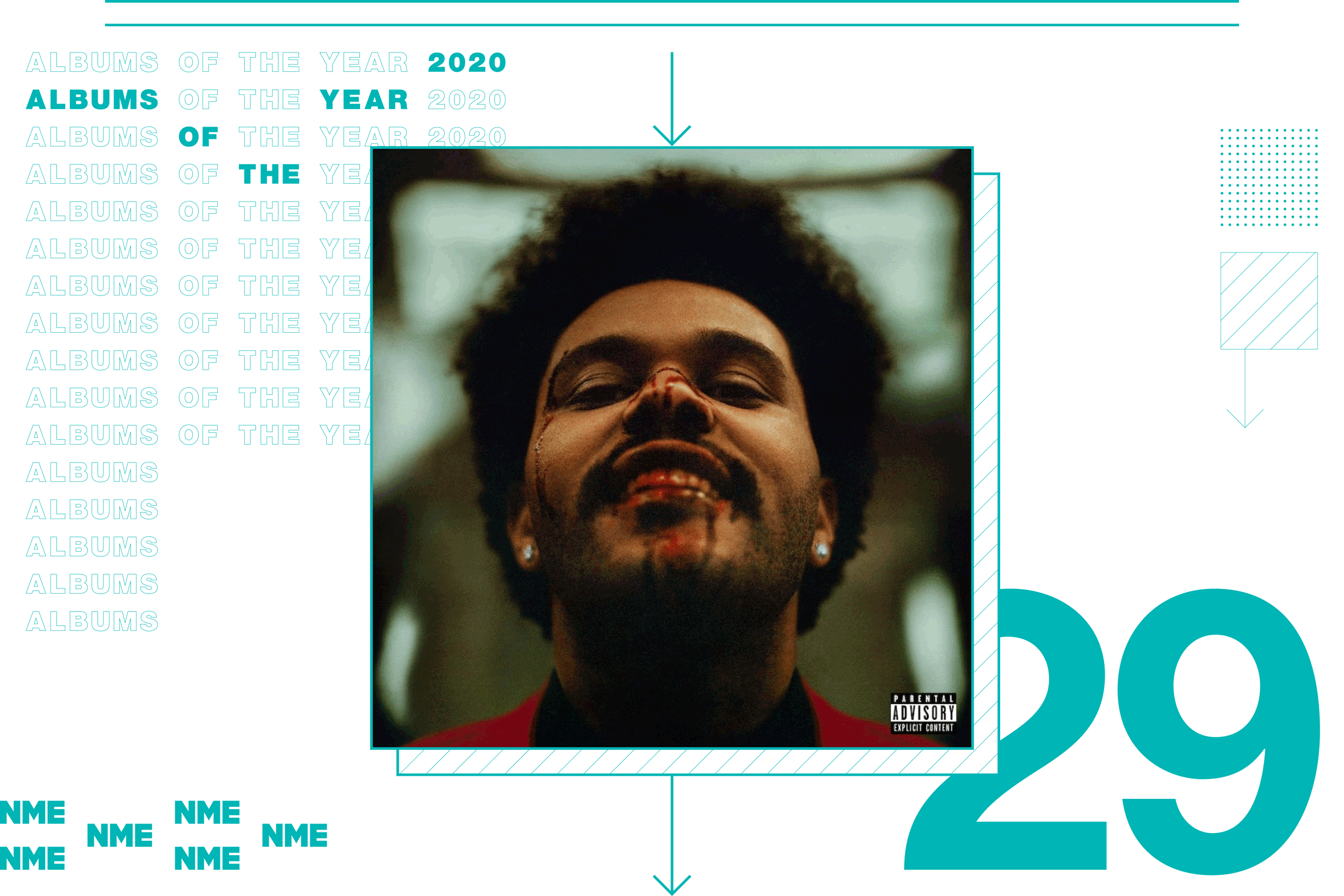 NME Album Of The Year 2020 The Weeknd, 'After Hours'