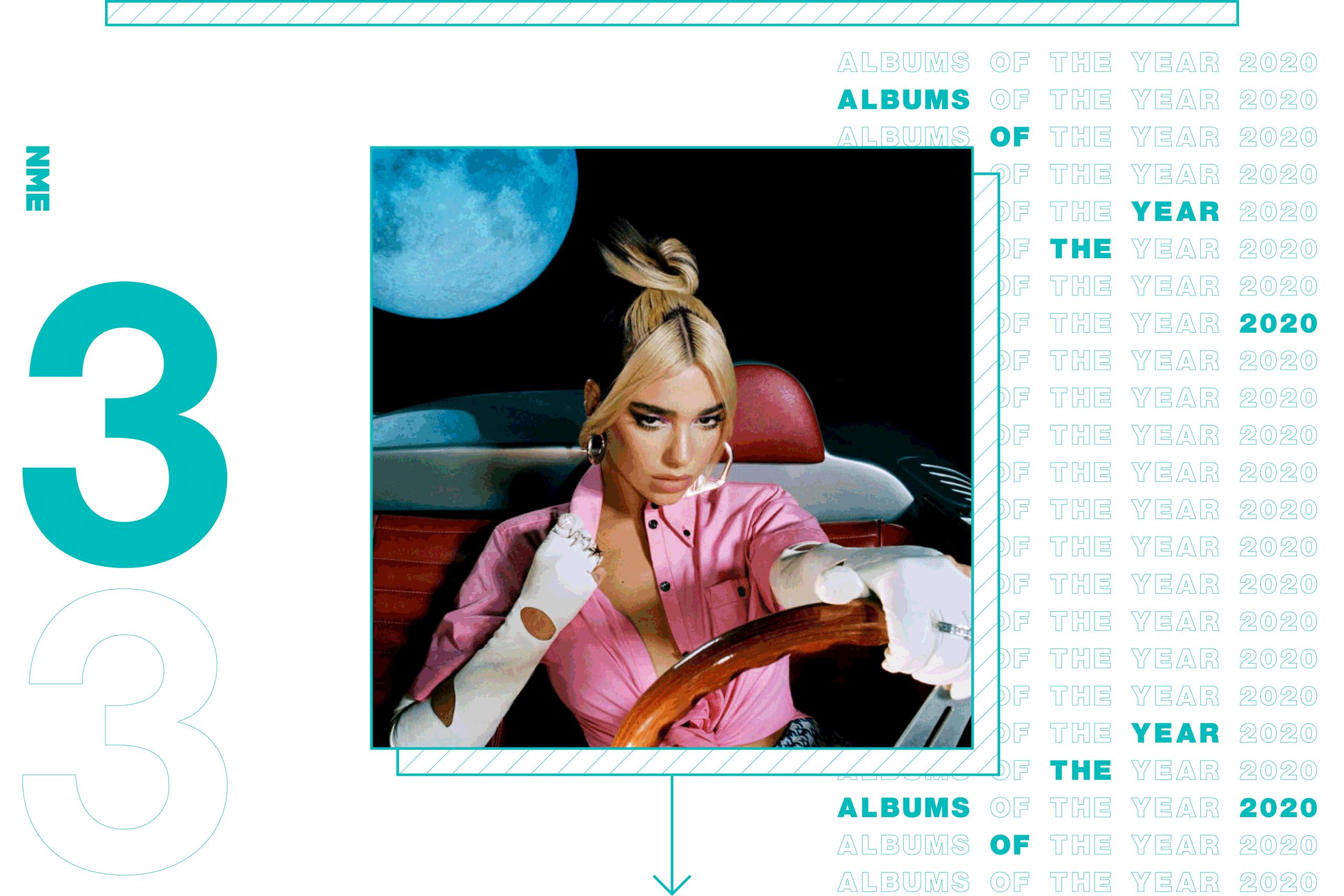 NME Album Of The Year 2020 Dua Lipa, 'Future Nostalgia'