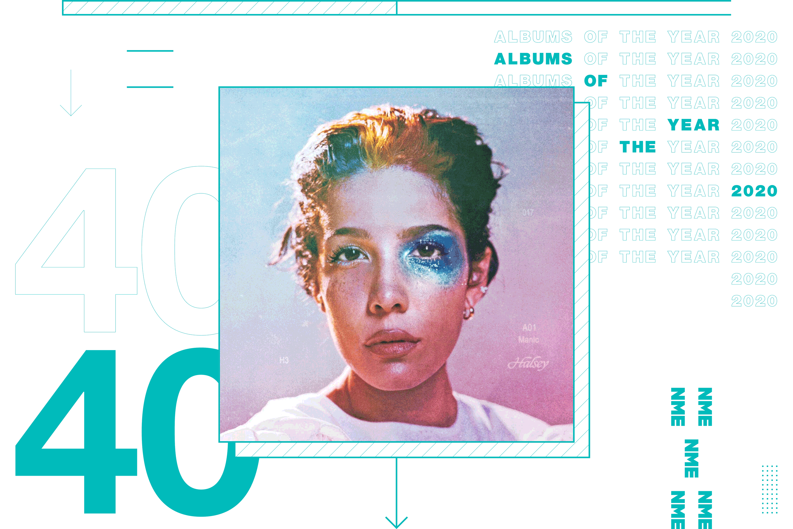 NME Album Of The Year 2020 Halsey, 'Manic'