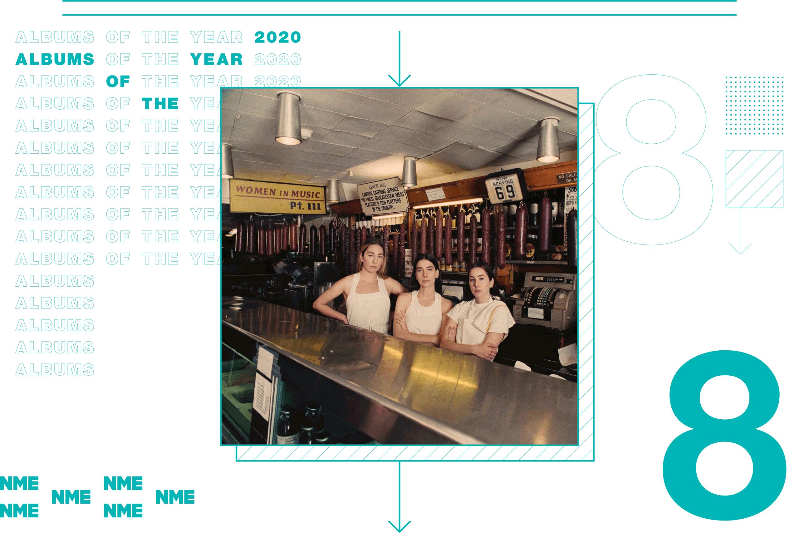 NME Album Of The Year 2020 Haim, 'Women in Music Pt III'