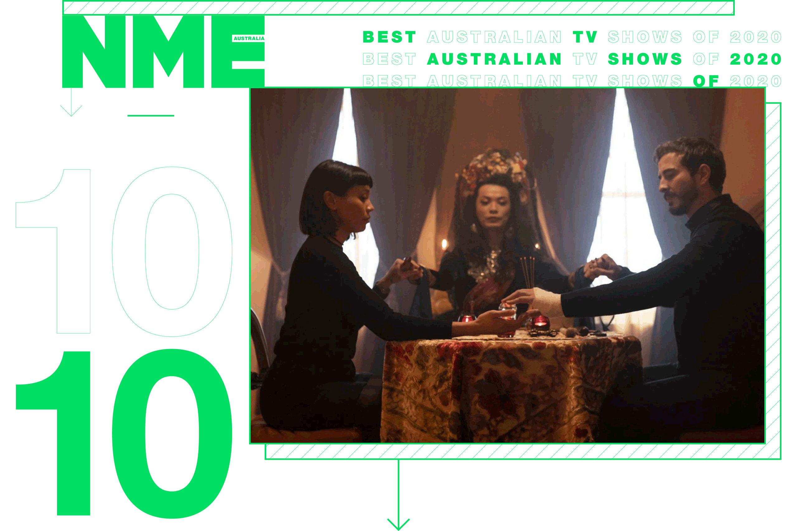 NME Australia TV Shows Of The Year, Hungry Ghosts