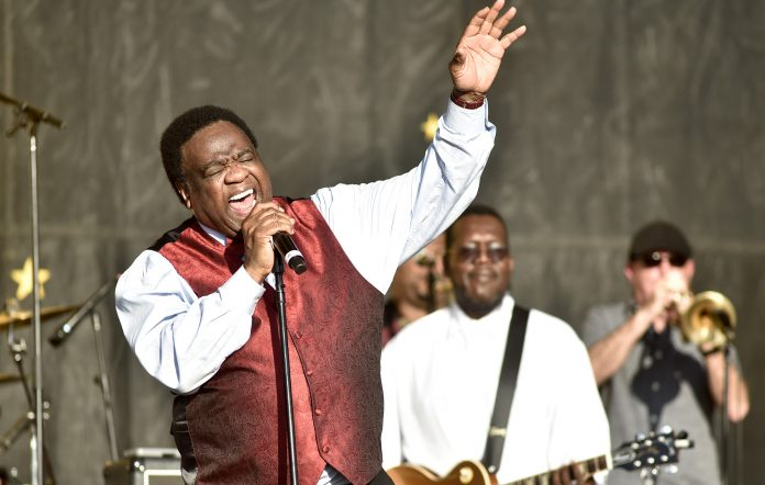 Al Green performs during the 2019 New Orleans Jazz & Heritage Festival.