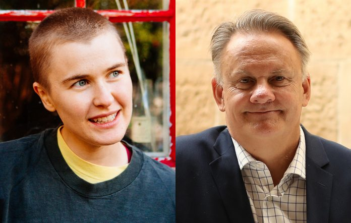 Alex The Astronaut and Mark Latham
