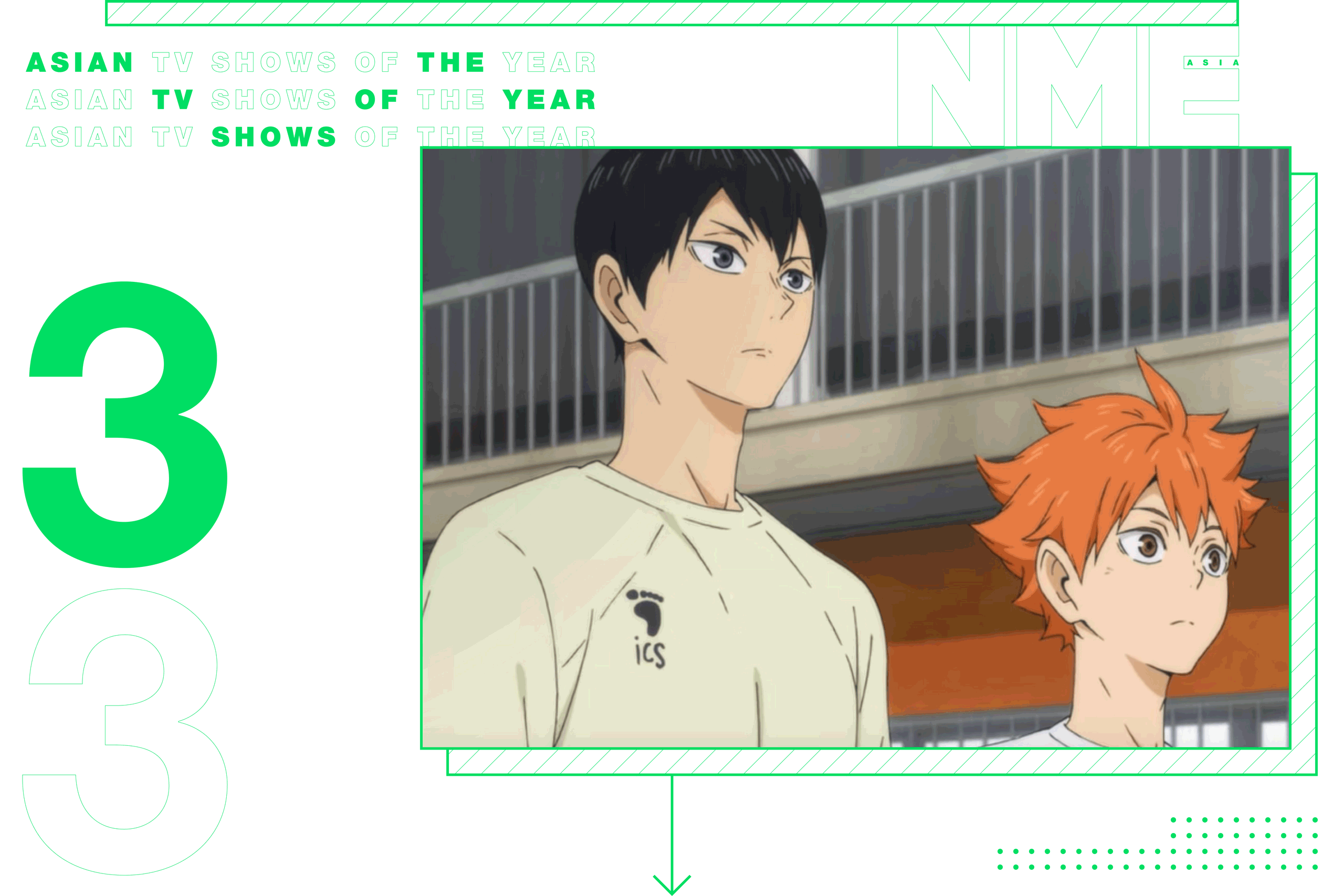 NME Asian TV Shows Of The Year Haikyuu!!