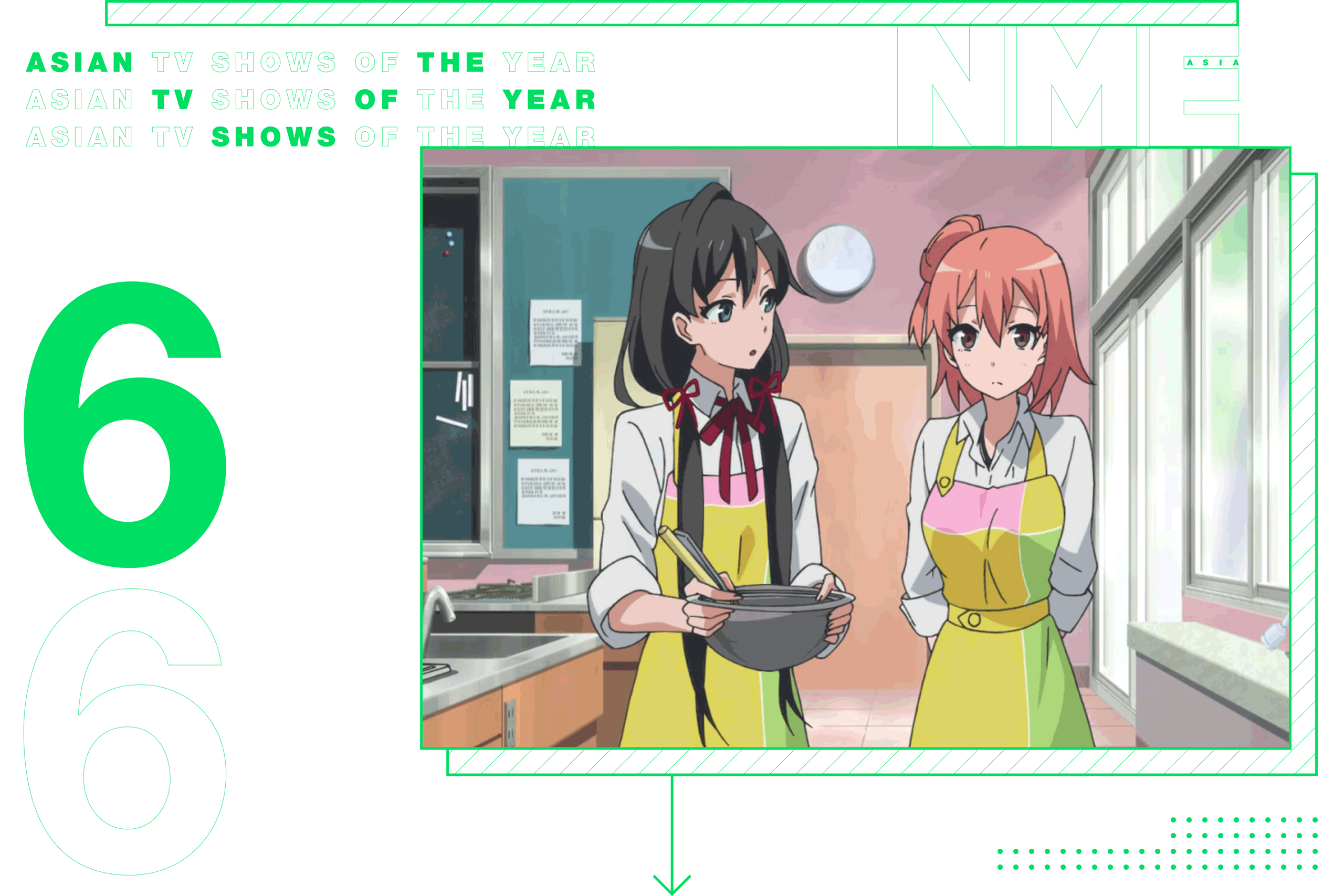 NME Asian TV Shows Of The Year My Teen Romantic Comedy SNAFU