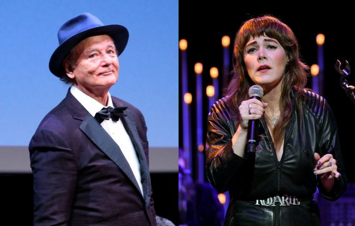 Bill Murray and Jenny Lewis
