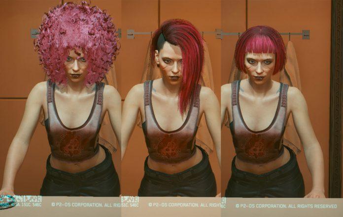 Cyberpunk 2077 Haircut Mods