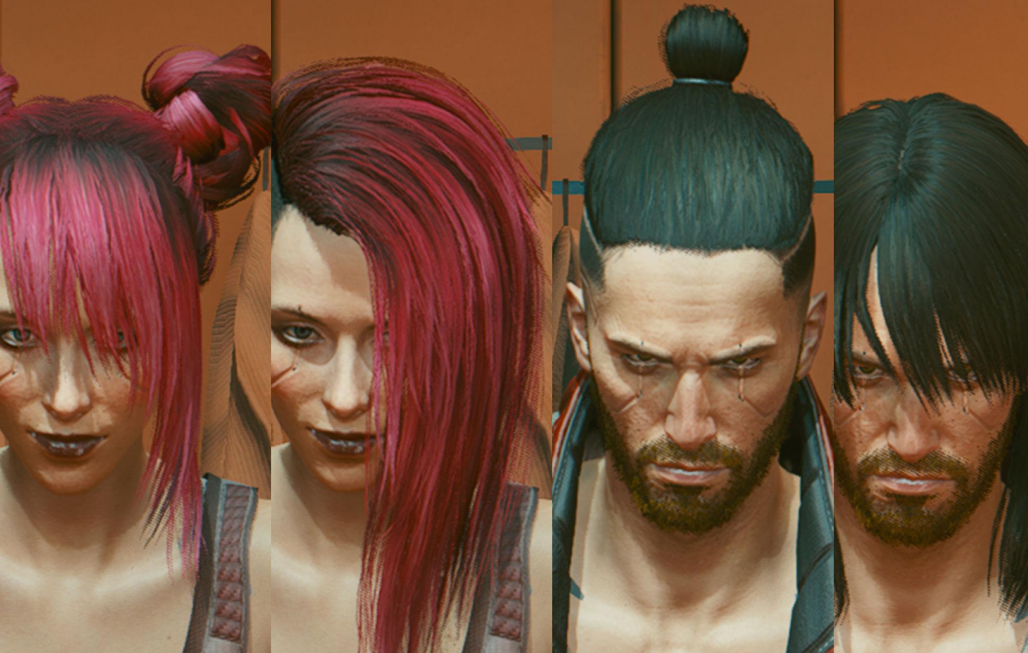 Cyberpunk 0277 haircuts