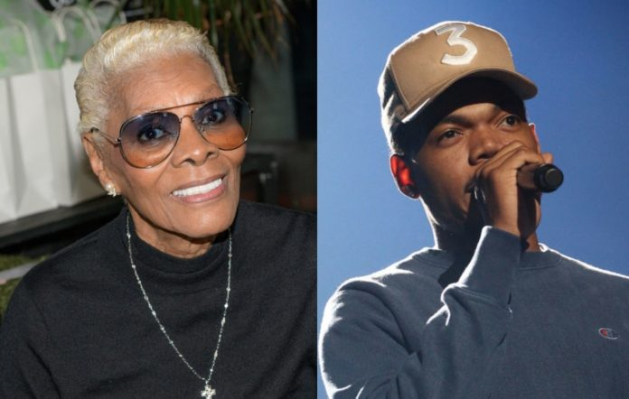 Dionne Warwick and Chance The Rapper