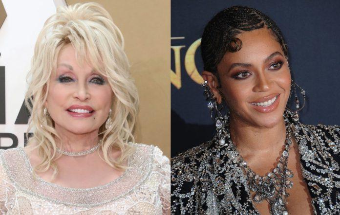 Dolly Parton and Beyoncé
