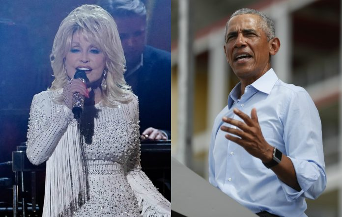 Dolly Parton Obama
