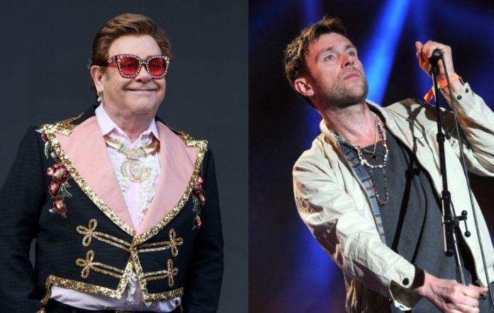Elton John and Damon Albarn