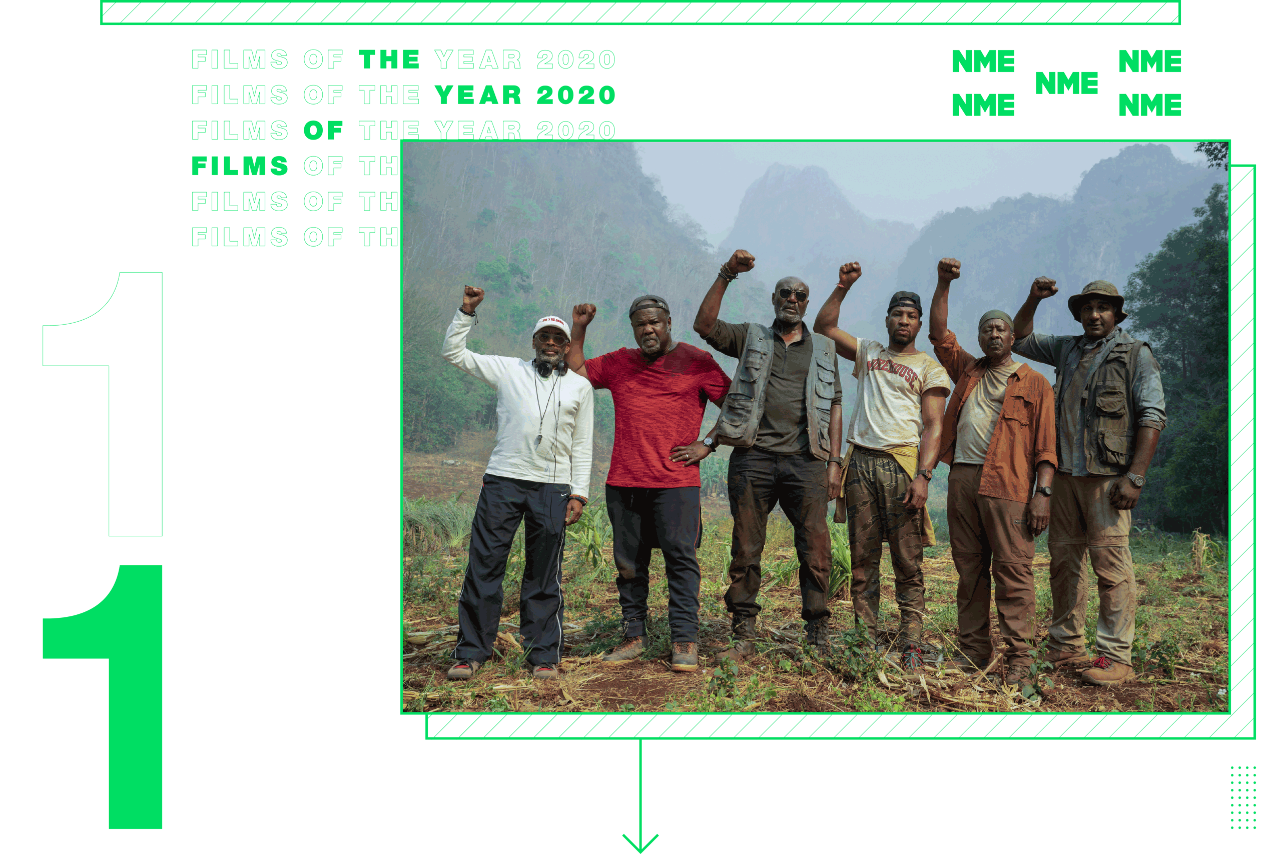 NME Global Films of the Year Da 5 Bloods