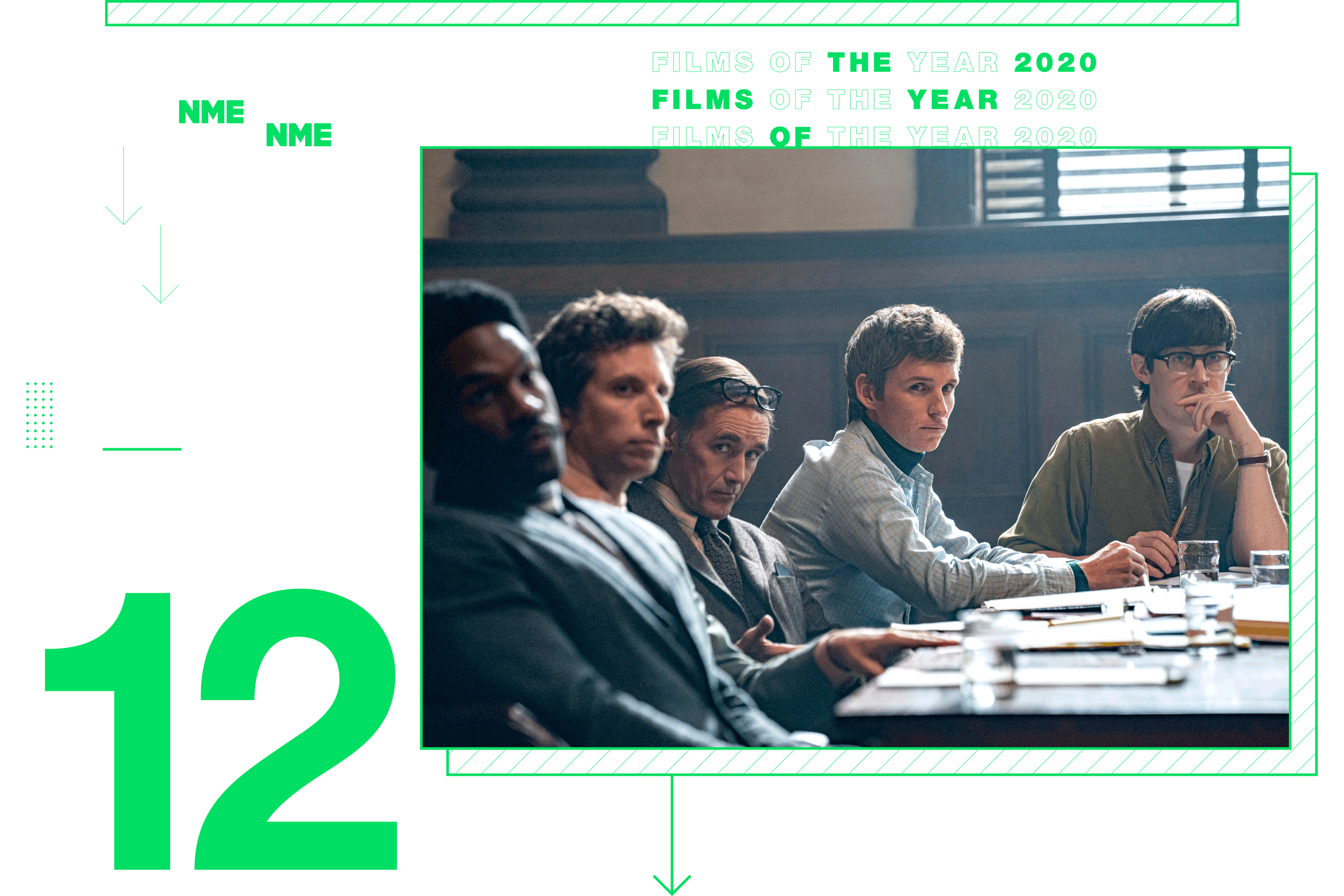 NME Global Films of the Year The Trial Of The Chicago 7