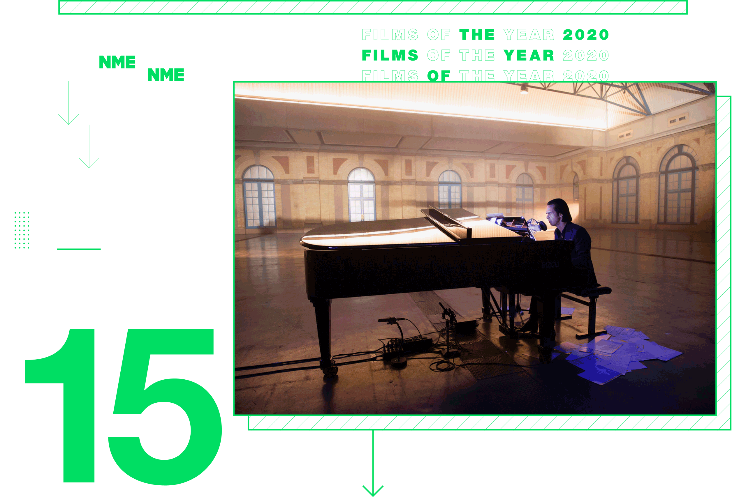 NME Global Films of the Year Idiot Prayer: Nick Cave Alone At Alexandra Palace