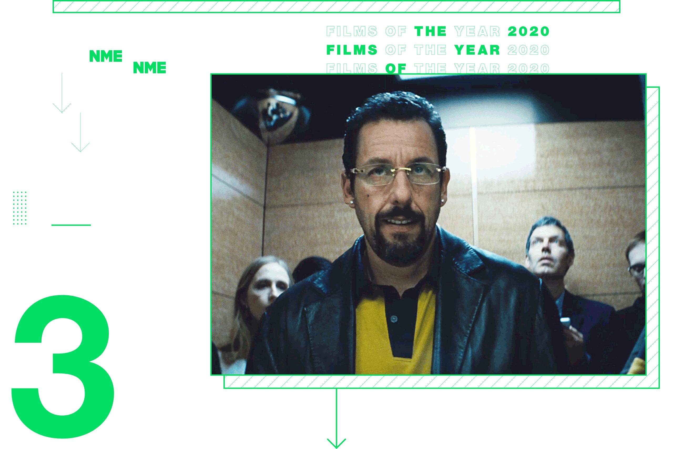 NME Global Films of the Year Uncut Gems