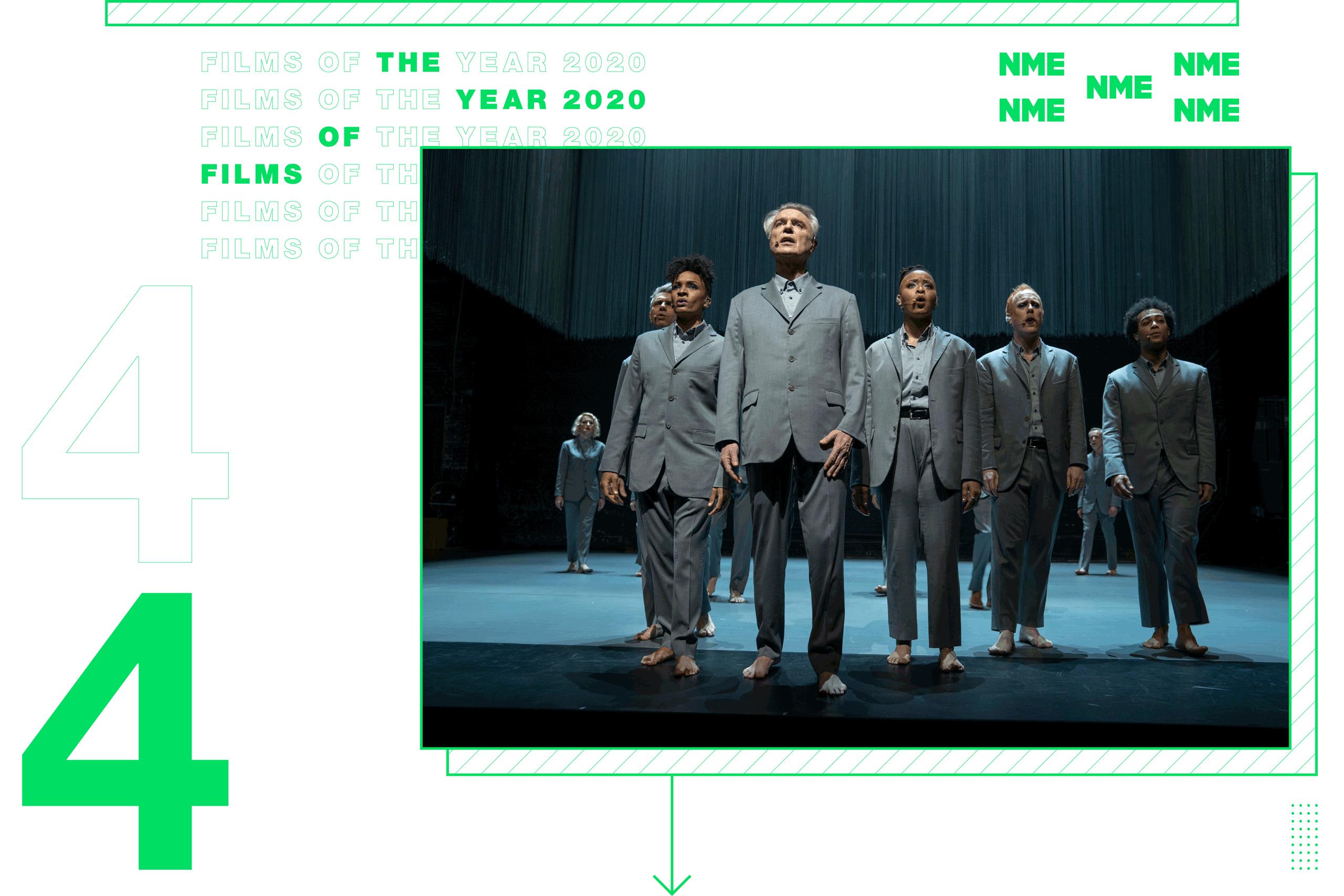 NME Global Films of the Year David Byrne's American Utopia
