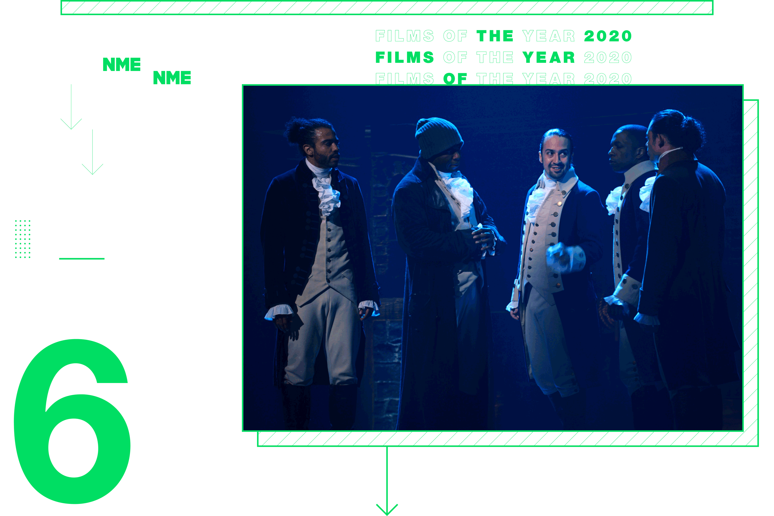 NME Global Films of the Year Hamilton