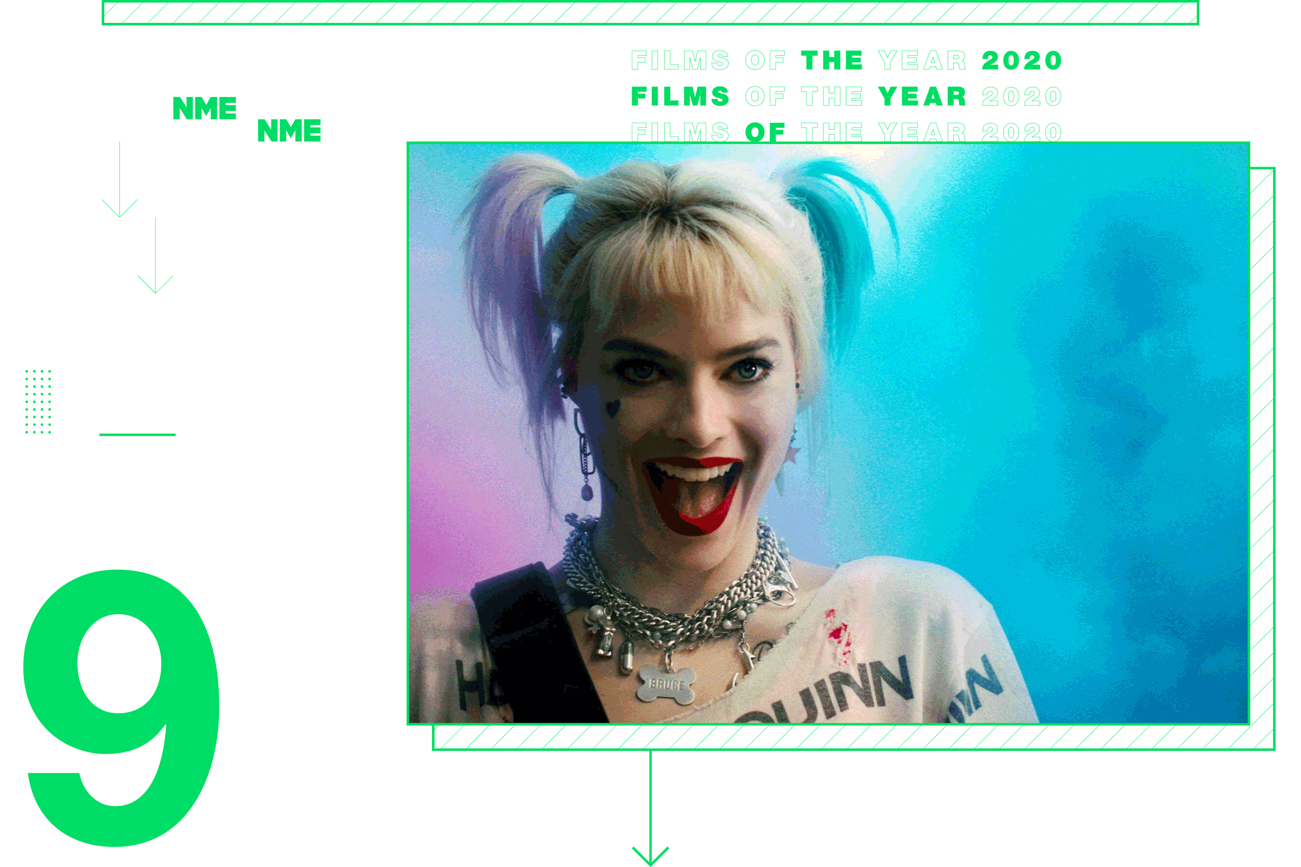 NME Global Films of the Year Birds Of Prey