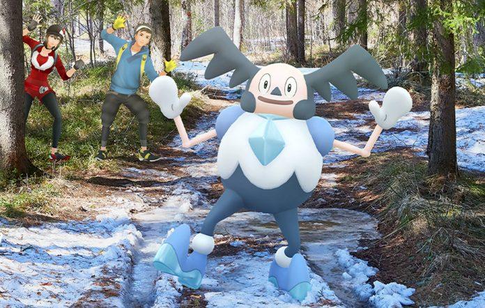 Galarian Mr. Mime Pokémon