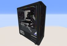Gaming PC built in Minecraft