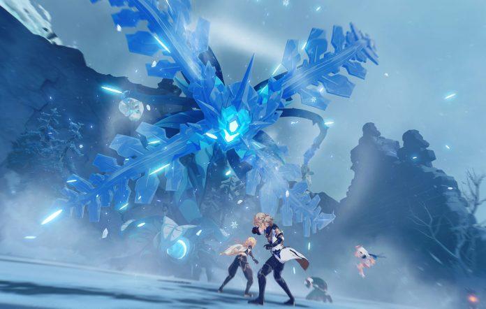 Genshin Impact Dragonspine Screenshot